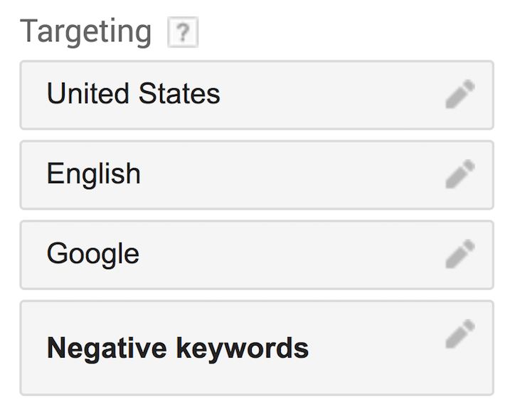 Guida al Goolge keyword planner 9