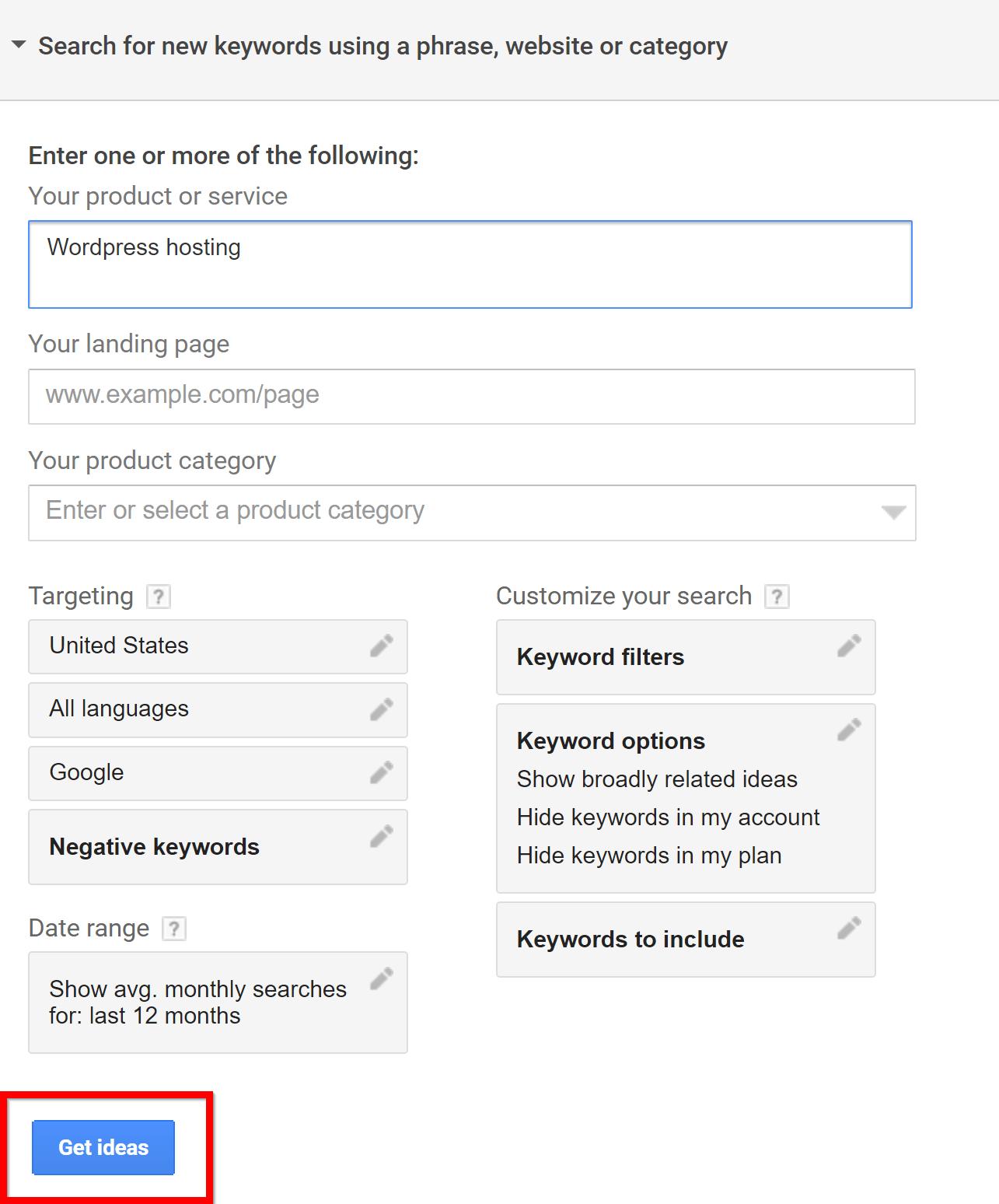 come determinare l'intento commerciale di una keyword 2