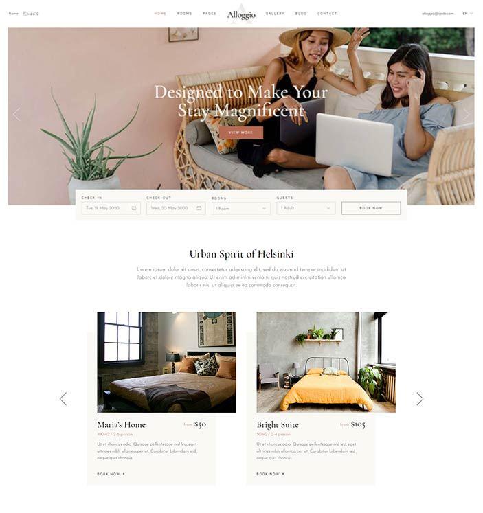 realizzazione sito web per bed and breakfast