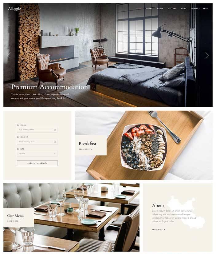 realizzazione sito web per bed and breakfast1