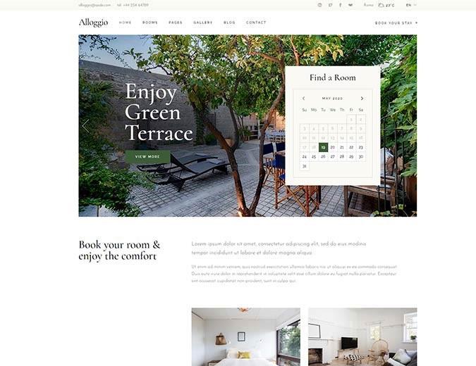 realizzazione sito web per bed and breakfast11
