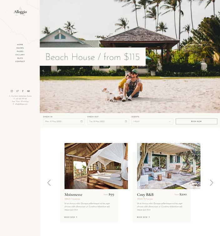 realizzazione sito web per bed and breakfast2