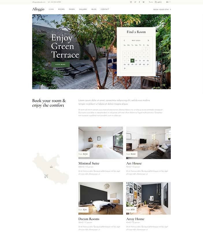 realizzazione sito web per bed and breakfast5