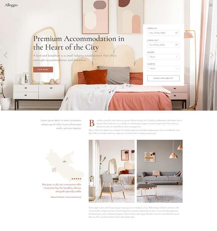 realizzazione sito web per bed and breakfast6