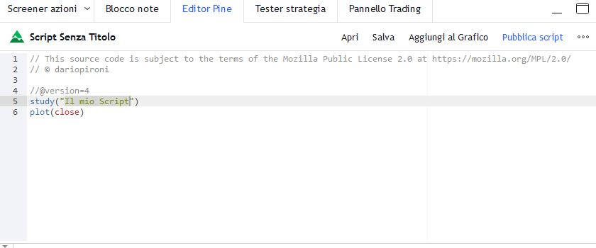 editor pine trading view guida1